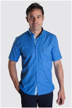 Camisas, Sport Manga Corta, 107328, ROYAL