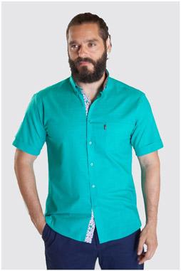 Camisas, Sport Manga Corta, 107328, VERDE