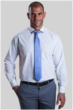 Camisas, Vestir Manga Larga, 107331, BLANCO