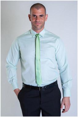 Camisas, Vestir Manga Larga, 107332, VERDE