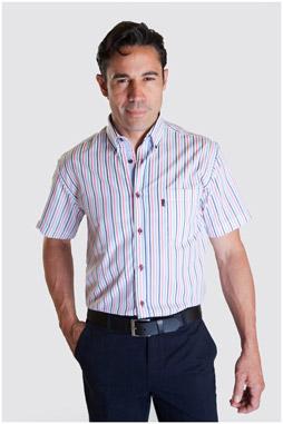 Camisas, Sport Manga Corta, 107334, MARINO