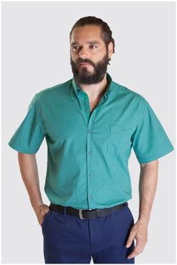 Camisas, Sport Manga Corta, 107340, VERDE