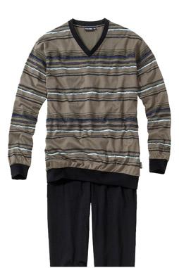 Homewear, Pijama M. Larga, 107383, BEIGE
