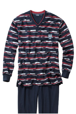 Homewear, Pijama M. Larga, 107385, MARINO