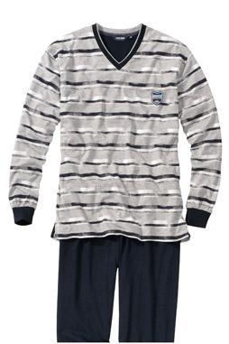 Homewear, Pijama M. Larga, 107385, GRIS MEDIO