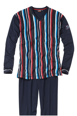 Homewear, Pijama M. Larga, 107386, MARINO