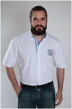 Camisas, Sport Manga Corta, 107470, BLANCO