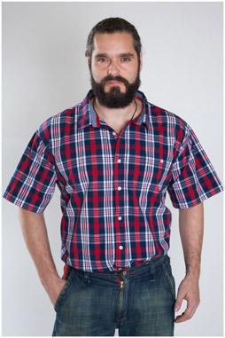 Camisas, Sport Manga Corta, 107474, MARINO