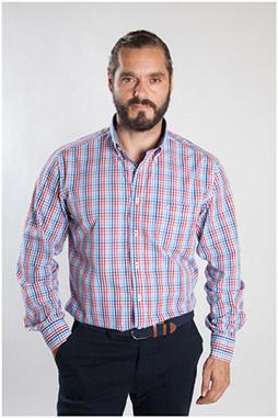 Camisas, Sport Manga Larga, 107482, CORAL