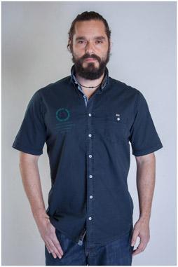 Camisas, Sport Manga Corta, 107488, MARINO