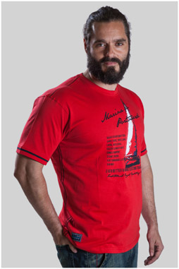 Sport, Camisetas M. Corta, 107491, ROJO