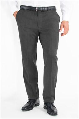 Pantalones, Vestir, 107567, GRIS MEDIO