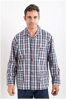 Homewear, Pijama M. Larga, 107610, MARINO