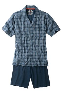 Homewear, Pijama M. Corta, 107625, AZUL