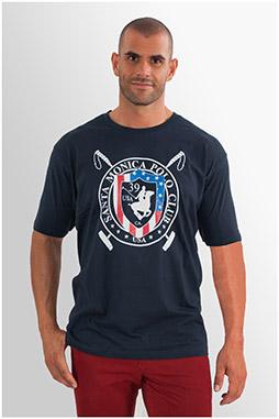 Sport, Camisetas M. Corta, 107690, MARINO