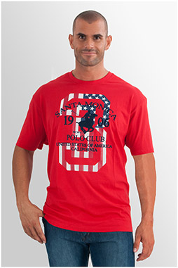 Sport, Camisetas M. Corta, 107691, ROJO