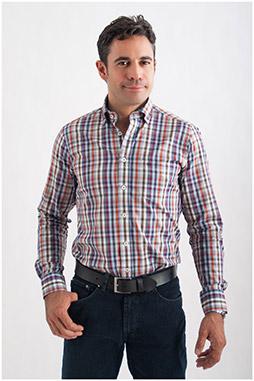 Camisas, Sport Manga Larga, 107781, BURDEOS