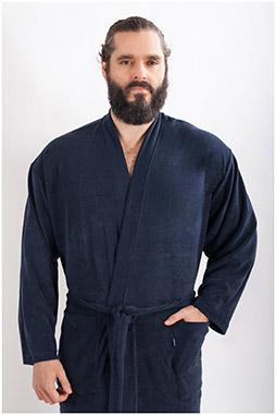 Homewear, Batas y Albornoces, 107835, MARINO