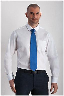 Camisas, Vestir Manga Larga, 107854, BLANCO
