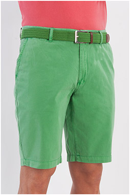 Pantalones, Bermudas, 107880, VERDE