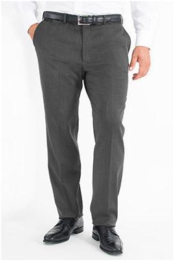 Pantalones, Vestir, 107903, GRIS MEDIO