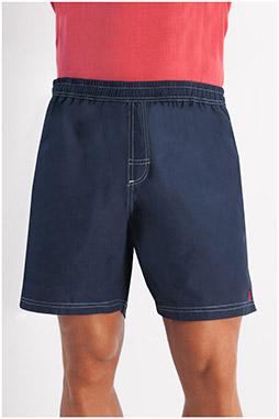 Pantalones, Bañadores, 107908, MARINO