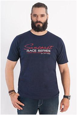 Sport, Camisetas M. Corta, 107911, MARINO