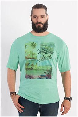 Sport, Camisetas M. Corta, 107914, HIERBA
