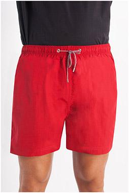 Pantalones, Bañadores, 107920, ROJO