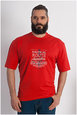 Sport, Camisetas M. Corta, 107921, ROJO