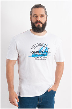 Sport, Camisetas M. Corta, 107931, BLANCO