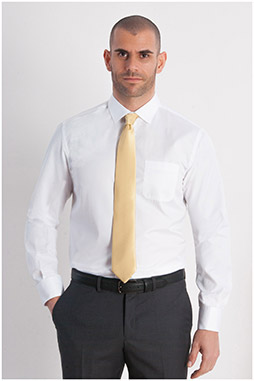 Camisas, Vestir Manga Larga, 107950, BLANCO