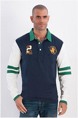 Sport, Polos M. Larga, 107954, MARINO