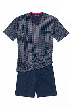 Homewear, Pijama M. Corta, 107960, MARINO