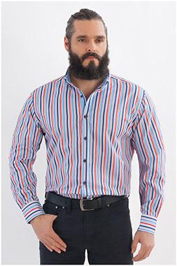 Camisas, Sport Manga Larga, 107969, MARINO