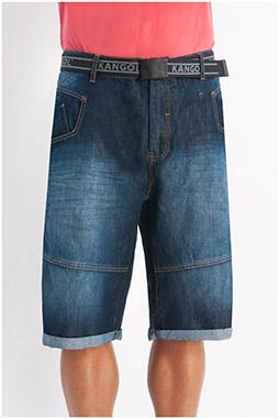 Pantalones, Bermudas, 107978, INDIGO