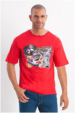 Sport, Camisetas M. Corta, 107981, ROJO