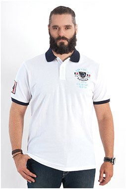 Sport, Polos M. Corta, 108020, BLANCO