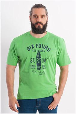 Sport, Camisetas M. Corta, 108022, VERDE