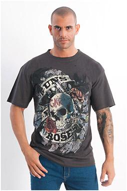 Sport, Camisetas M. Corta, 108051, NEGRO