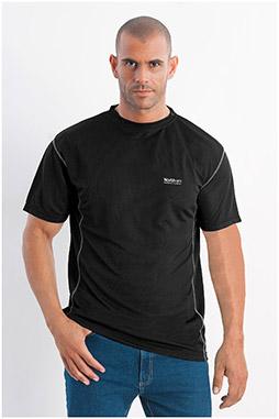 Sport, Camisetas M. Corta, 108053, NEGRO