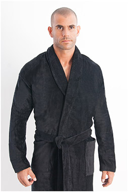 Homewear, Batas y Albornoces, 108055, NEGRO