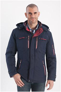 Abrigo, Chaquetones y Piel, 108215, MARINO