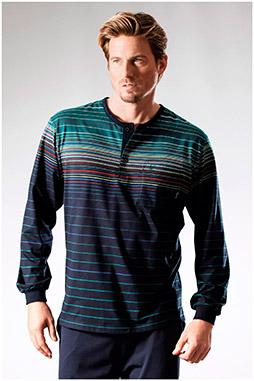Homewear, Pijama M. Larga, 108232, MARINO