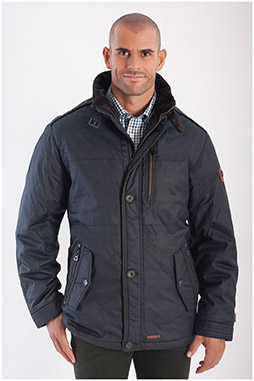 Abrigo, Chaquetones y Piel, 108240, MARINO