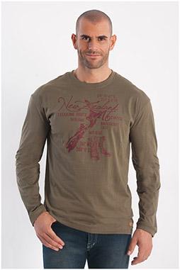 Sport, Camisetas M. Larga, 108257, OLIVA