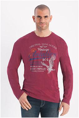 Sport, Camisetas M. Larga, 108258, BURDEOS