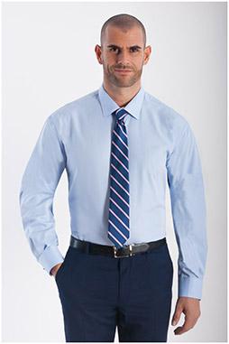 Camisas, Vestir Manga Larga, 108291, CELESTE