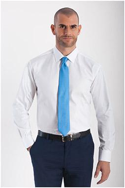 Camisas, Vestir Manga Larga, 108292, BLANCO