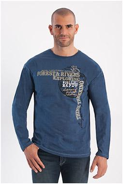 Sport, Camisetas M. Larga, 108294, INDIGO